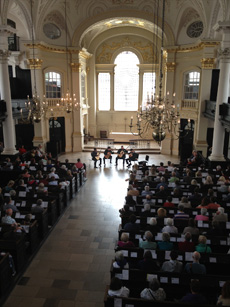 "June 7th 2013,""Quarteto Tau and Luca Luciano"" at ""St Martin in the Fields - London"""