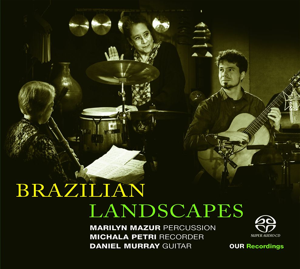 CD Brazilian Landscapes, (gravado na Dinamarca pela Our Recordings), com Michala Petri-flauta, Marilyn Mazur-percussão e Daniel Murray-violão